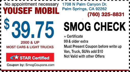 How Much Is A Smog Check >> Smog Coupon Palm Springs 39 75 Smog Check